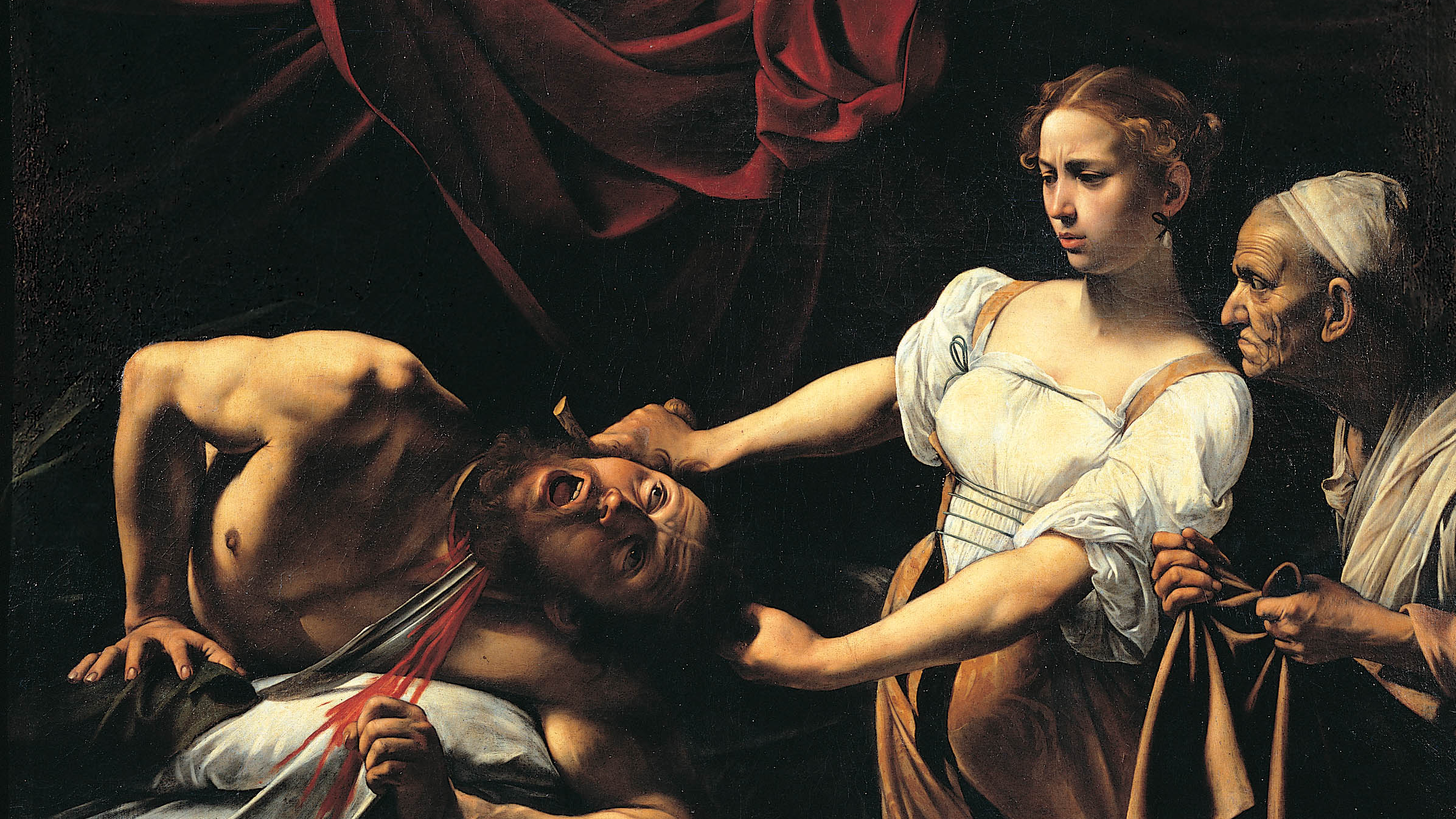 Judith beheading holofernes wallpaper