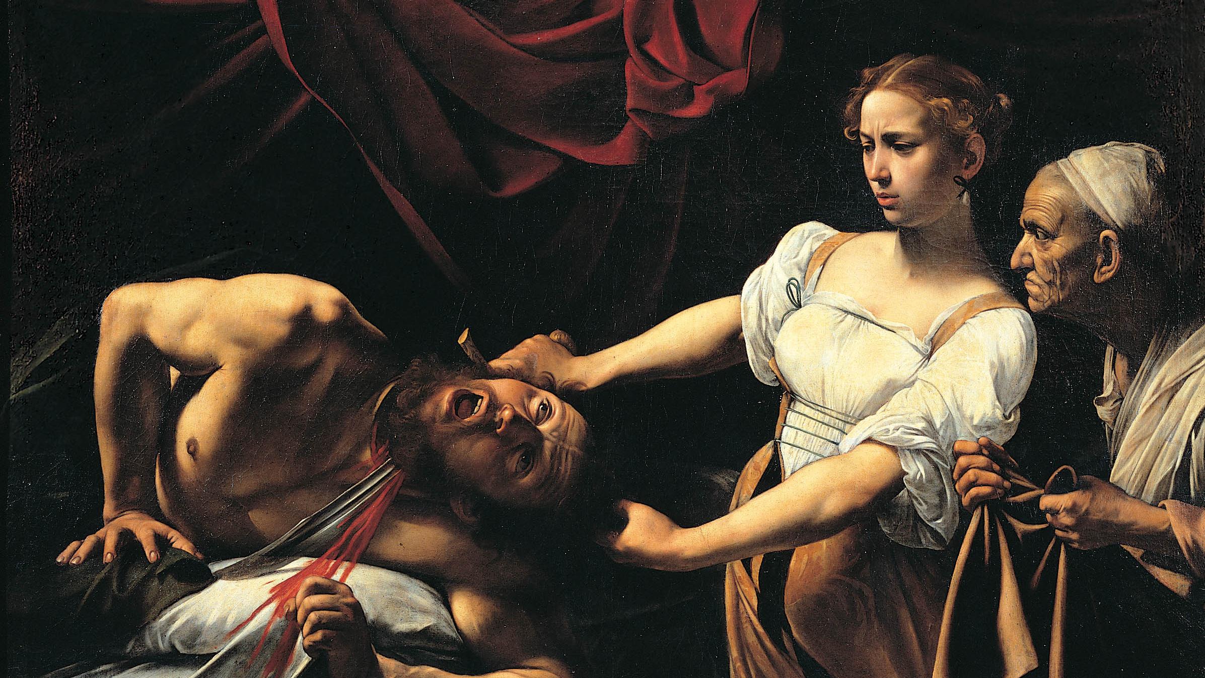 Judith beheading holofernes wallpaper