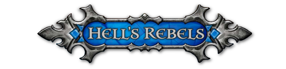 Hells rebels banner