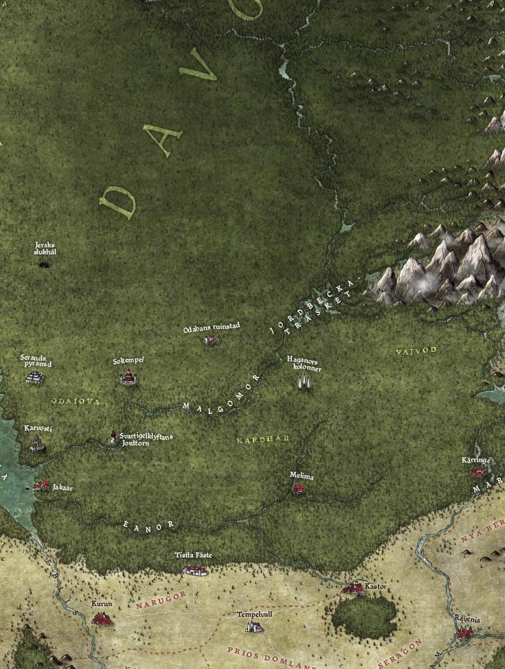 Symbaorum karta