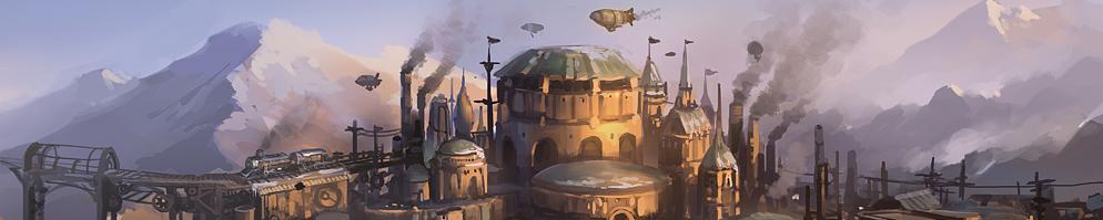 Steampunk campaign banner