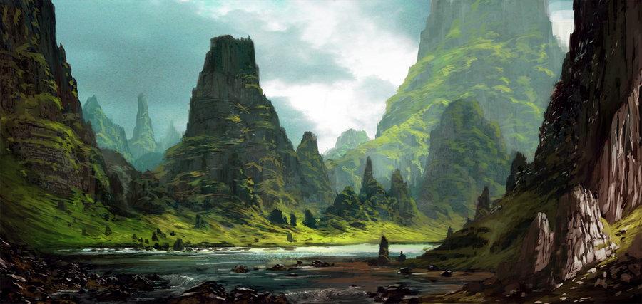 Landscape by grosnez d49zlcs