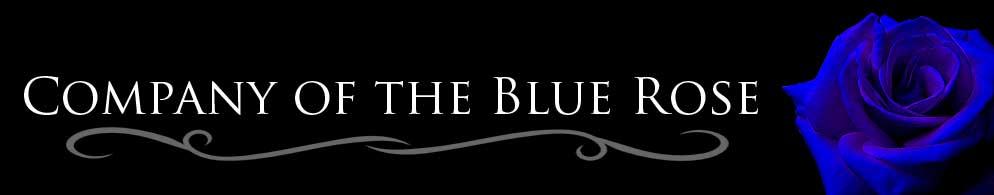 Blue rose banner