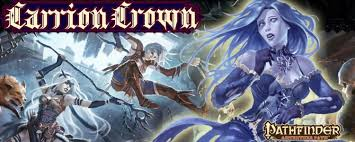 Carrion crown header