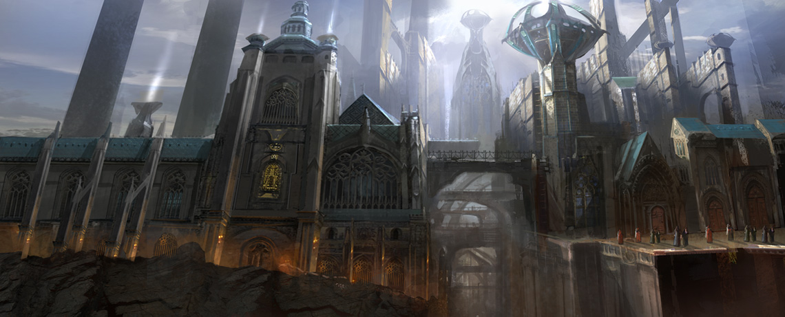 Gothic castle by jungpark d4huua2
