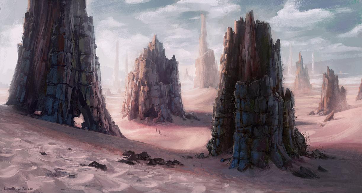 Monolith desert by wildweasel339 d5q3ggf