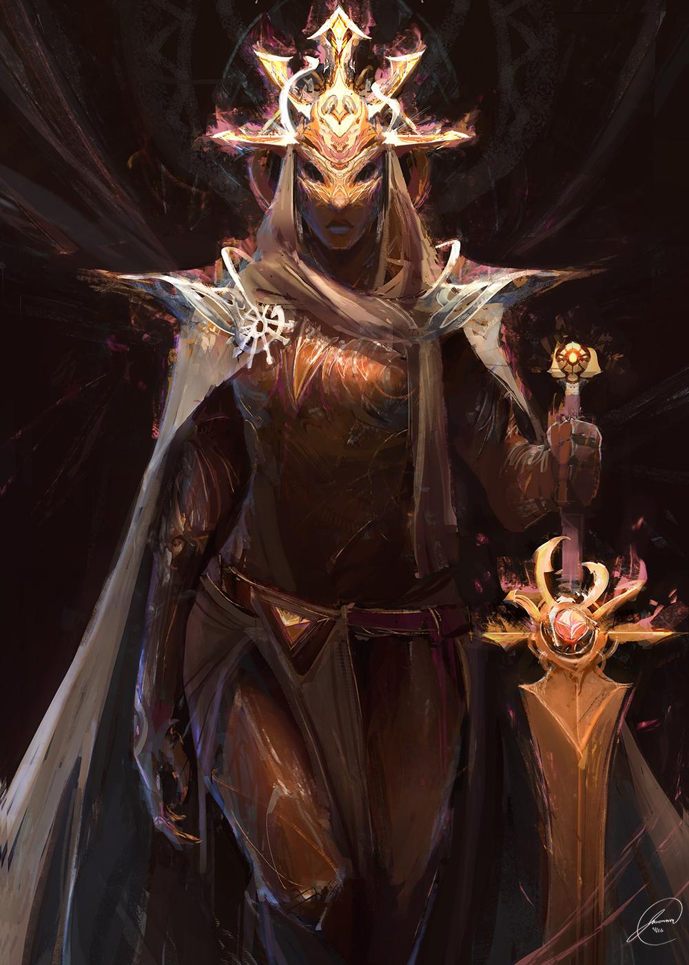 Fantasy Art Elemental Knight