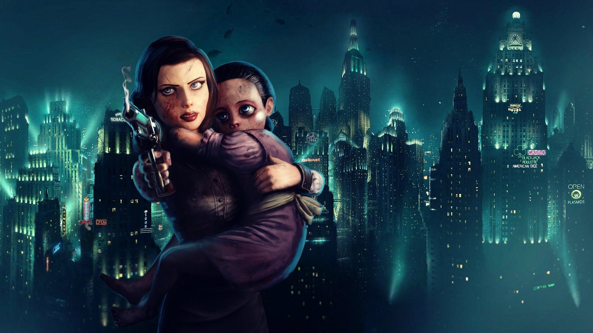 bioshock-bioshock-infinite-elizabeth-columbia-rapture-little-sister-video-games.jpg