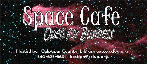 Space cafe banner