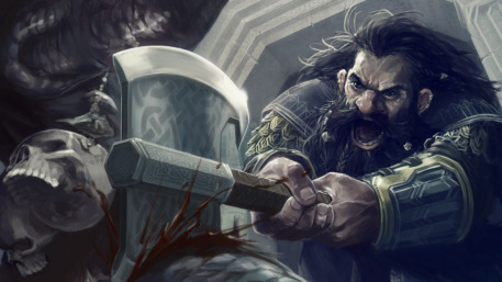 R169_457x257_15005_Heavy_Stroke_2d_fantasy_troll_dwarf_fight_battle_lotr_lord_of_the_ring_picture_image_digital_art.jpg