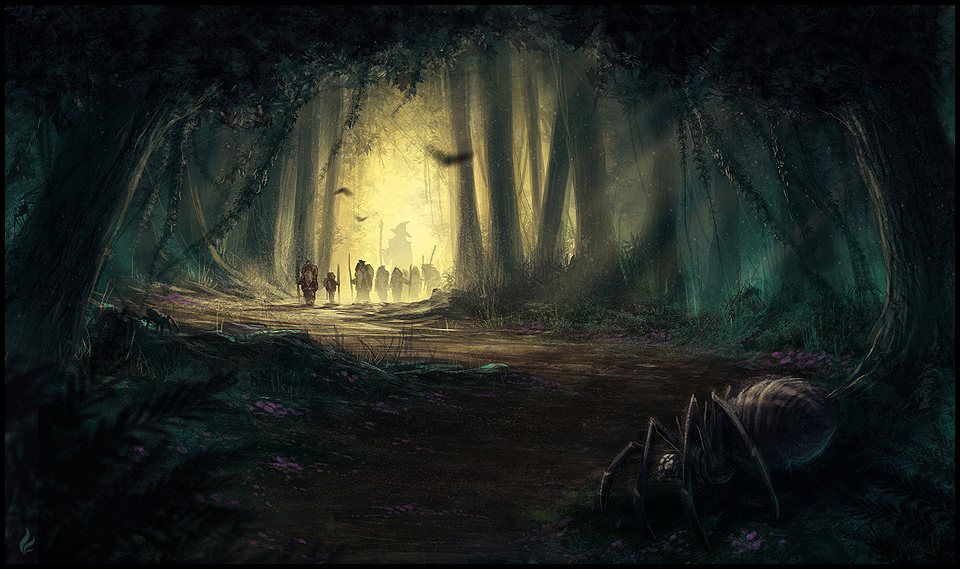 Into the mirkwood by thalion art