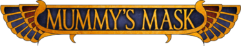 Mummy s mask logo