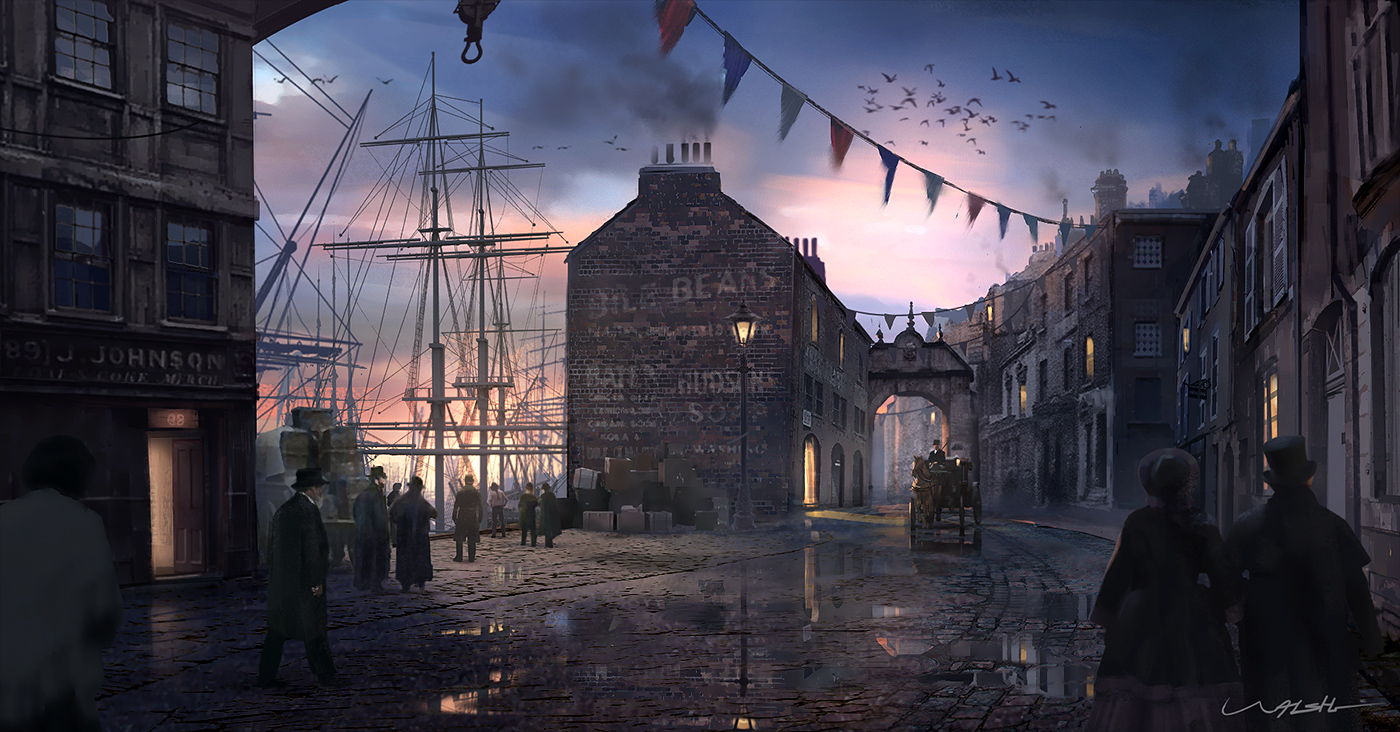 Victorian harbour by stayinwonderland d8rmtew  1