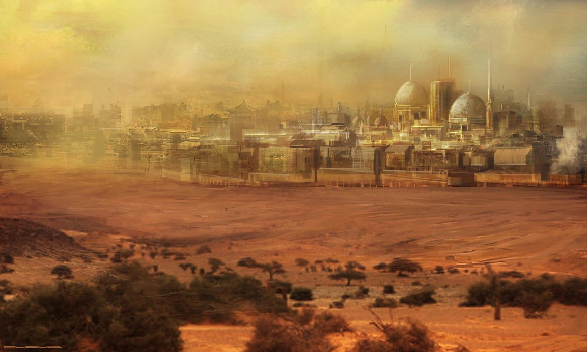Large desert city dvg by cloudminedesign d6bnvmx