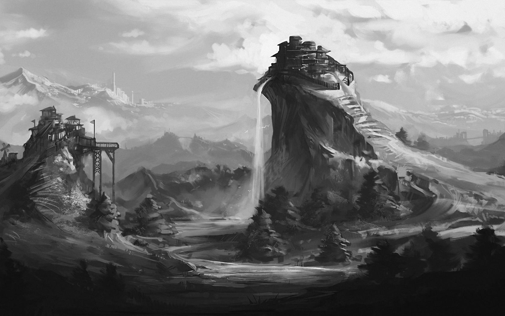 gray_art_fantasy_landscape_hills_fort_mountains_hd-wallpaper-424195.jpg