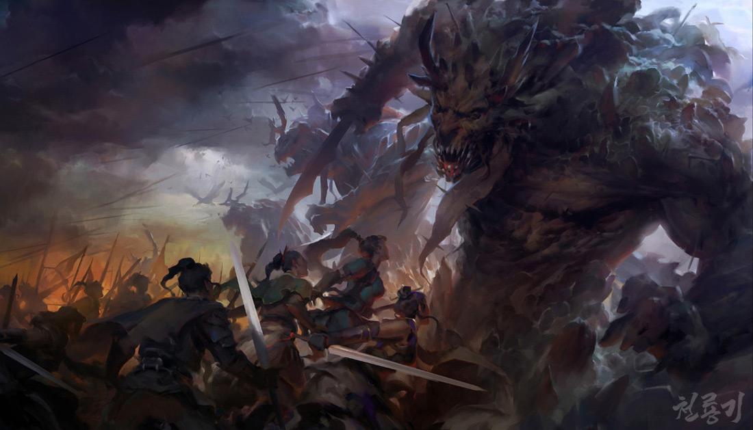 Fantasy-Art-Min-Yum-The-Battle.jpg