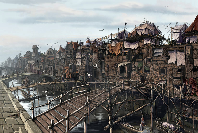 Old korvosa slums by benwootten