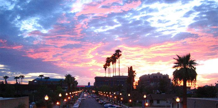 Tempe sunset