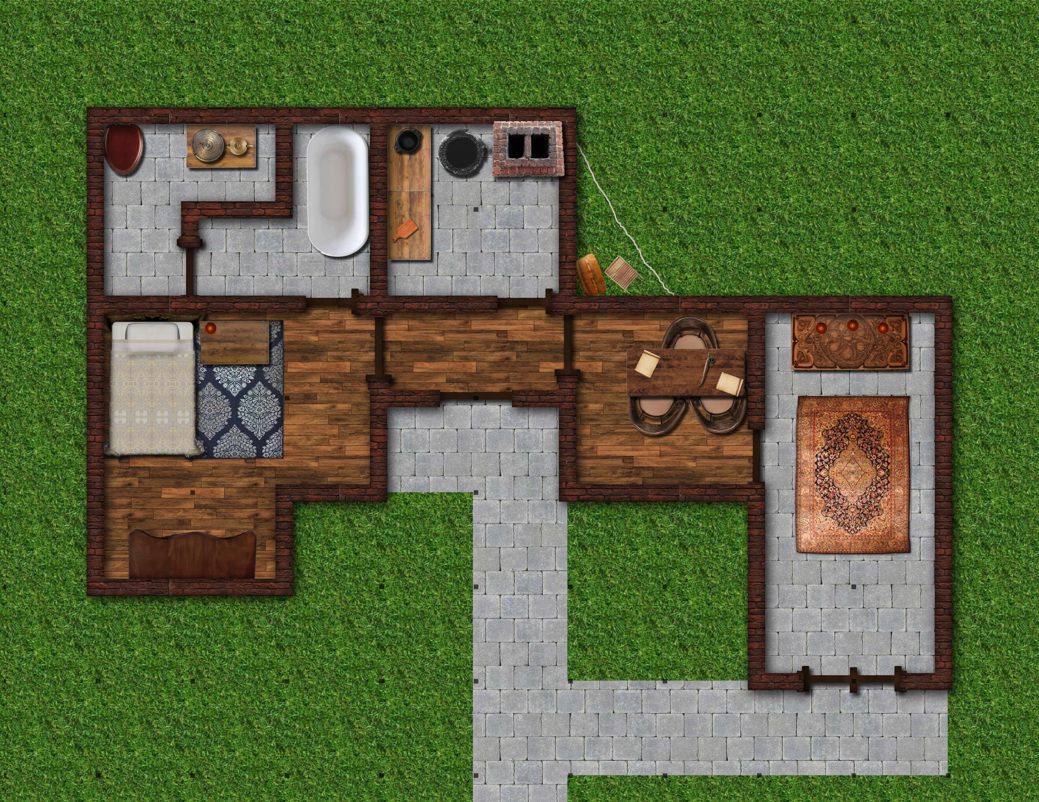 Map of Seralyn's House