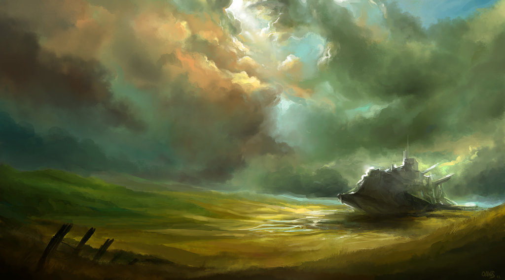 After the storm by oakks d4qlzhs