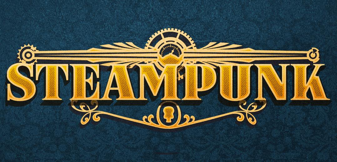 Steampunk banner