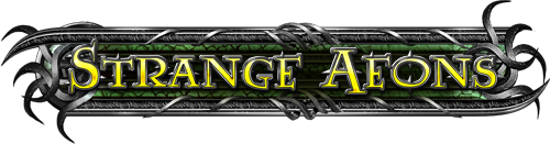 Strange aeons logo