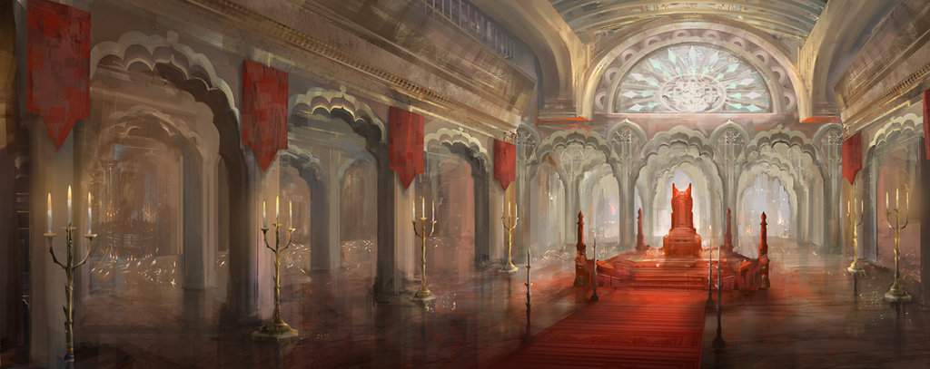 Throne room by yefumm d4ghzcf