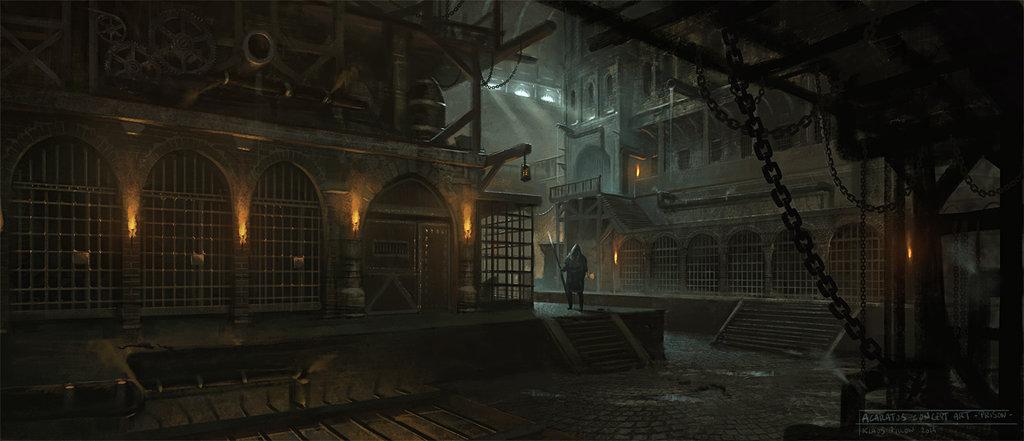 Acaratus concept art   prison   by klauspillon d7ap9hx
