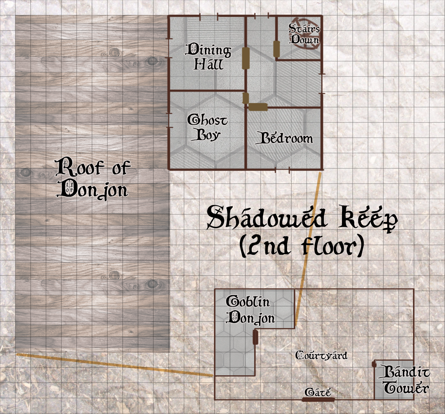 Shadowed Keep - 2nd floor