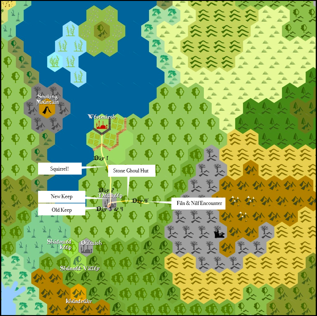 Westmarch Map - Mission 05