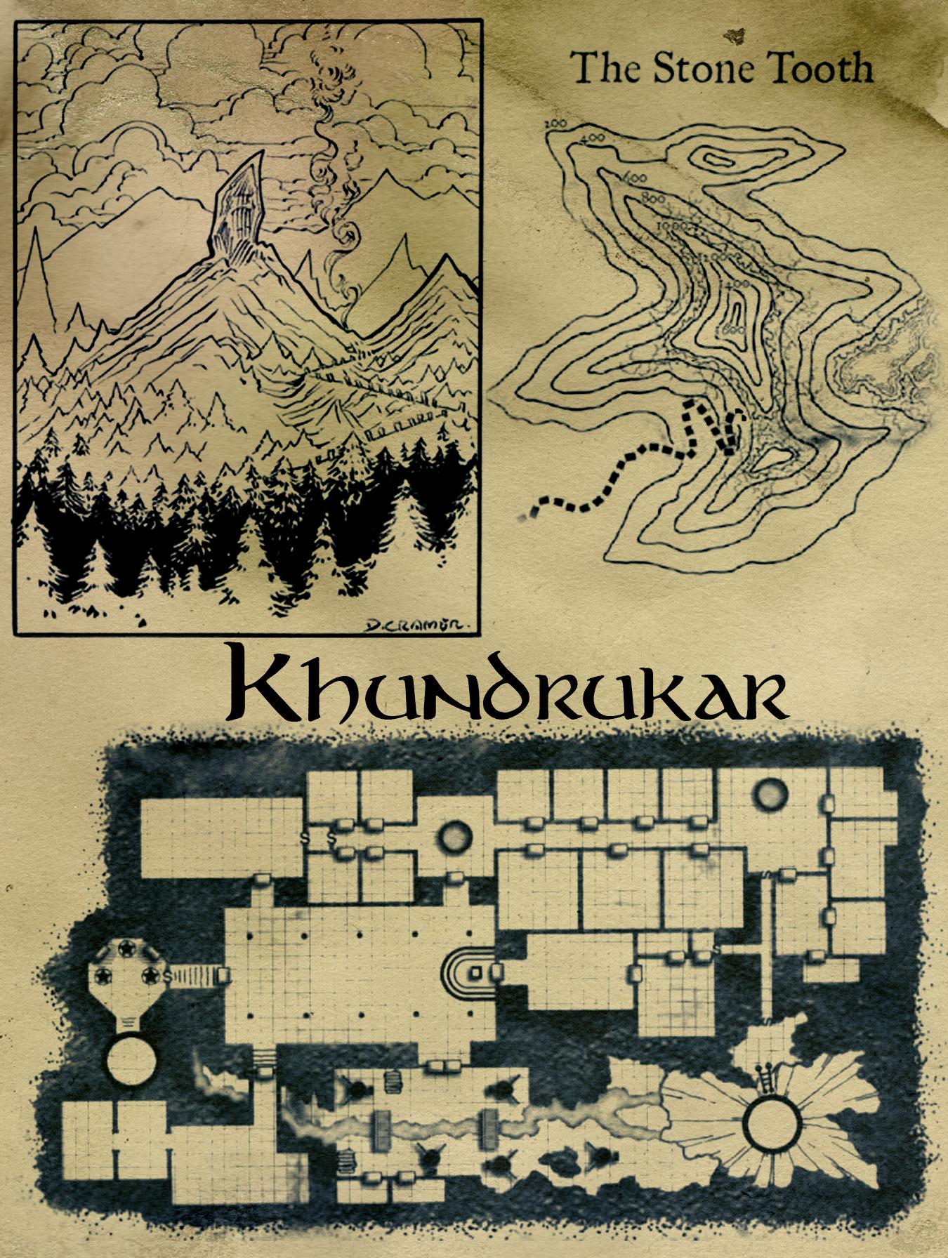 Khundrakar map