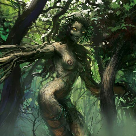 Undead dryad