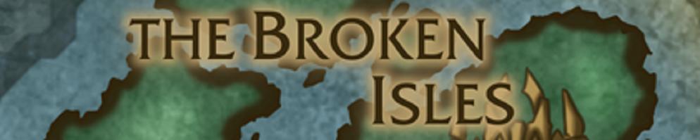 Broken isles banner