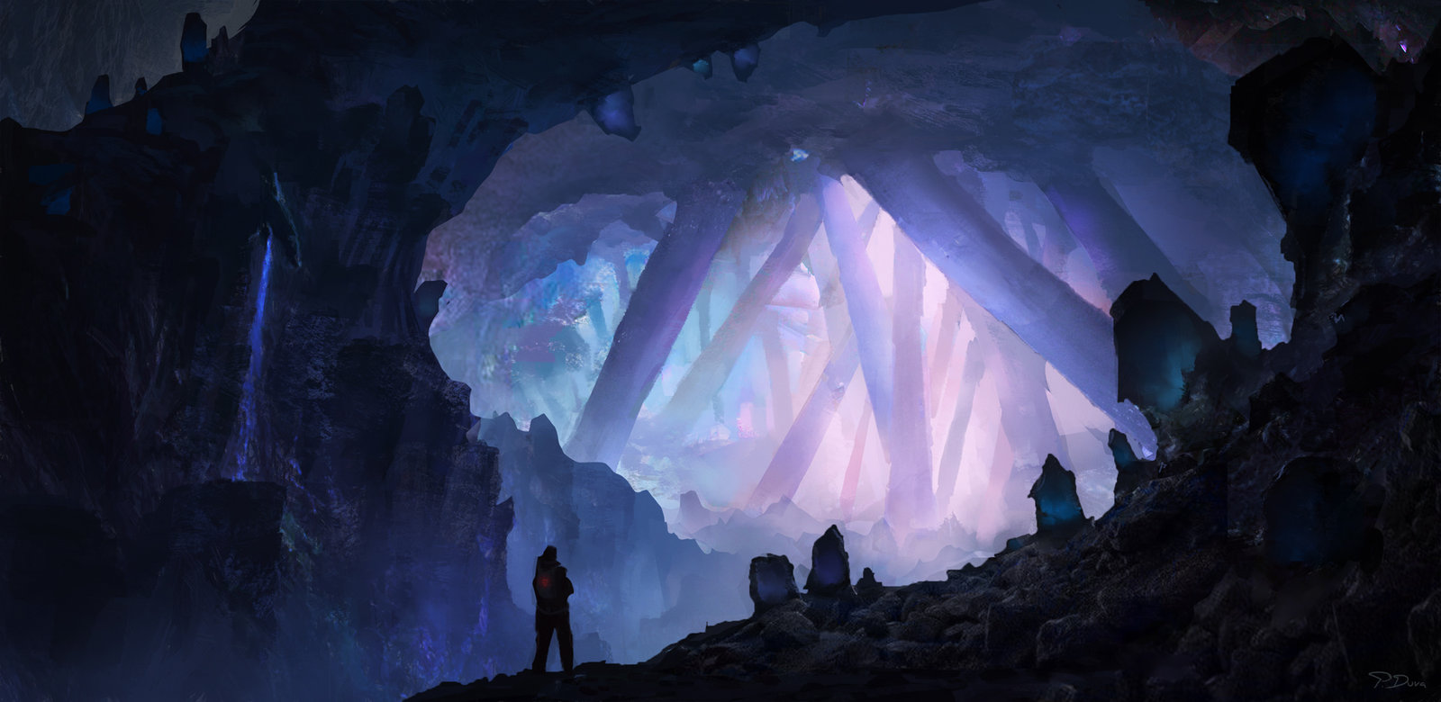 Crystal cave by threedeee d9nghgk