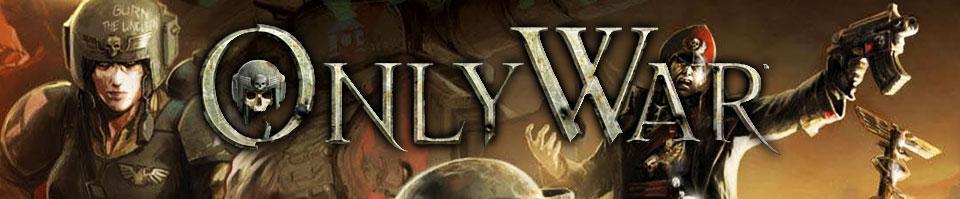 Only war banner