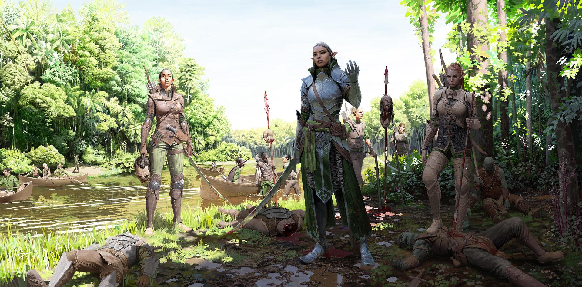 Un lee elven rangers 01