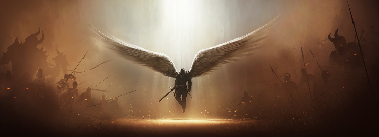 Diablo 3 tyrael fan art by tobylewin d47ro3t