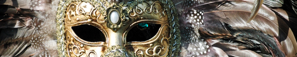 Venetian mask bannerrr