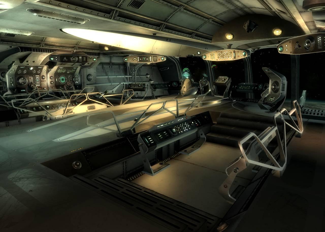 alien inside ship - HD1280×914