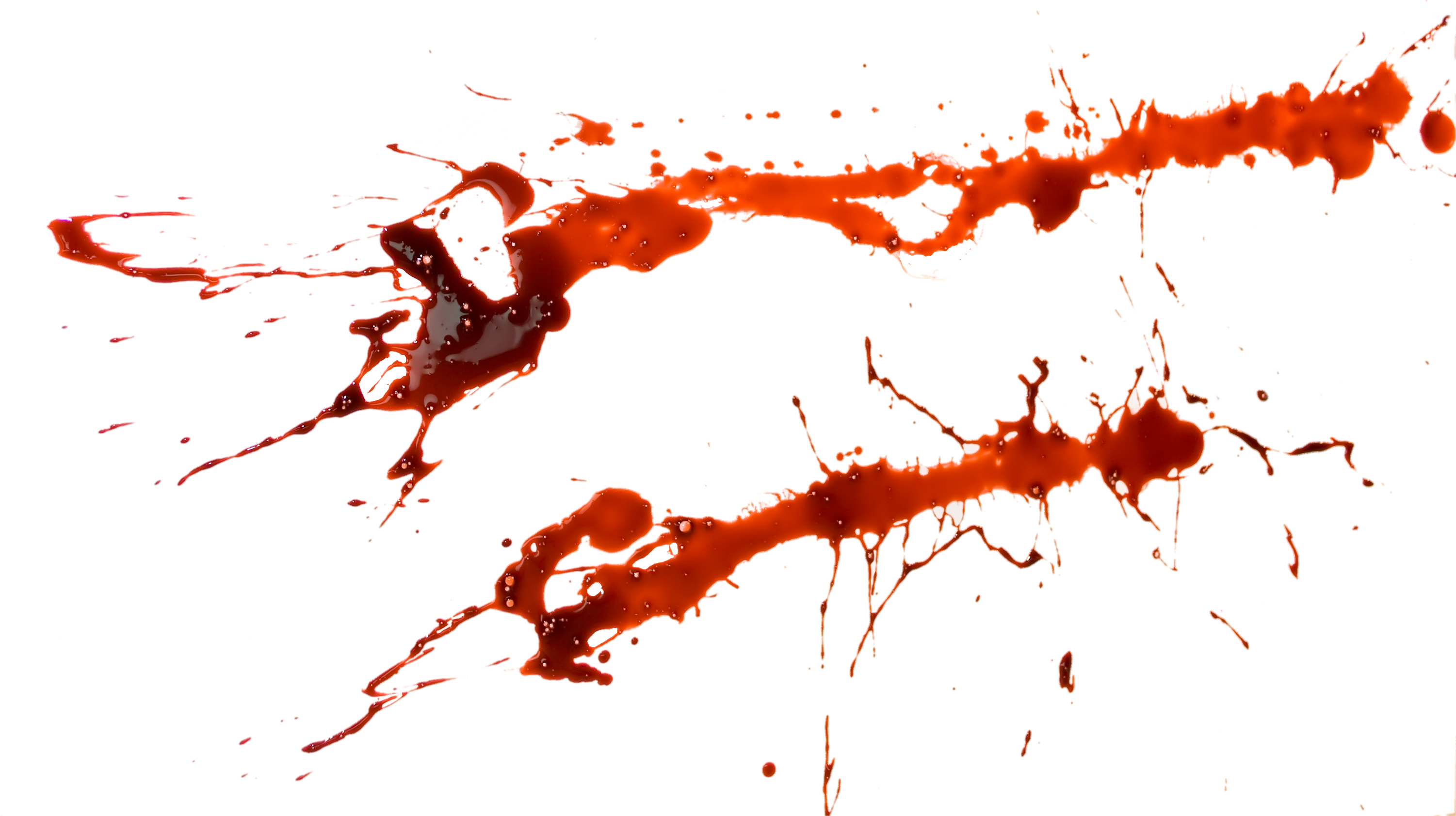Blood splatter 86