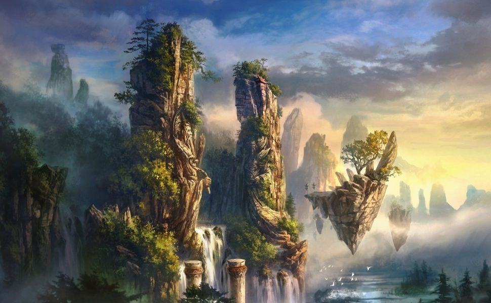 Fantasy landscape 1920x1080 wallpaper529246