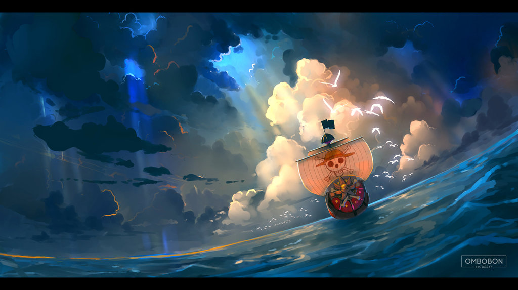 Keep sailing   one piece by ombobon d9le5zx
