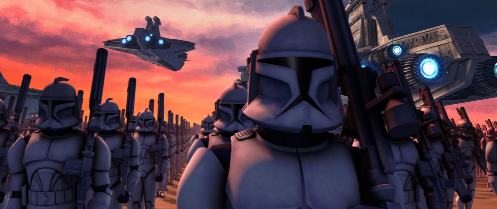 Clone wars clones