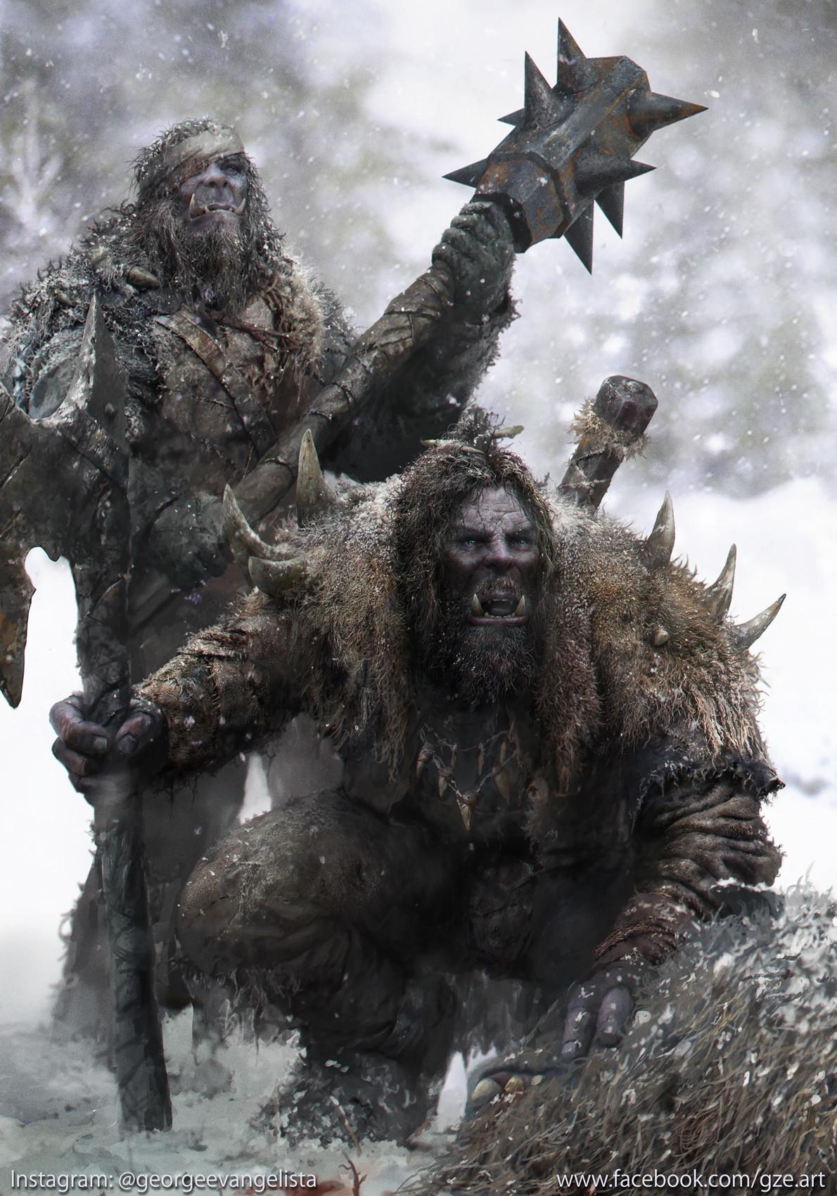 George evangelista snow orcs hunters
