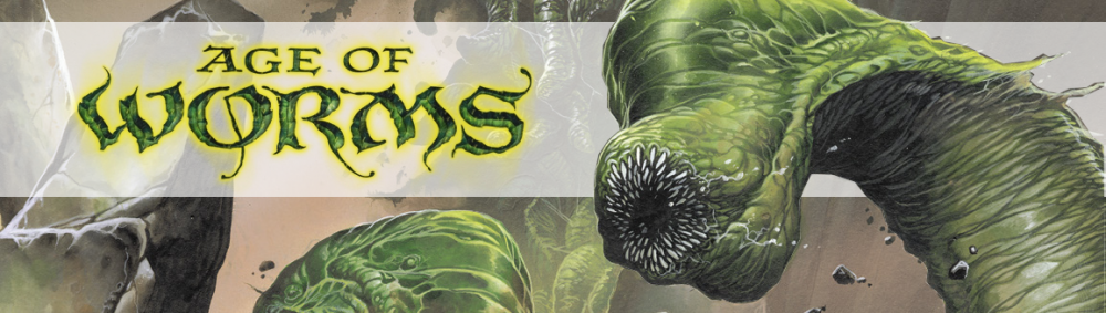 Cropped age of worms banner with band