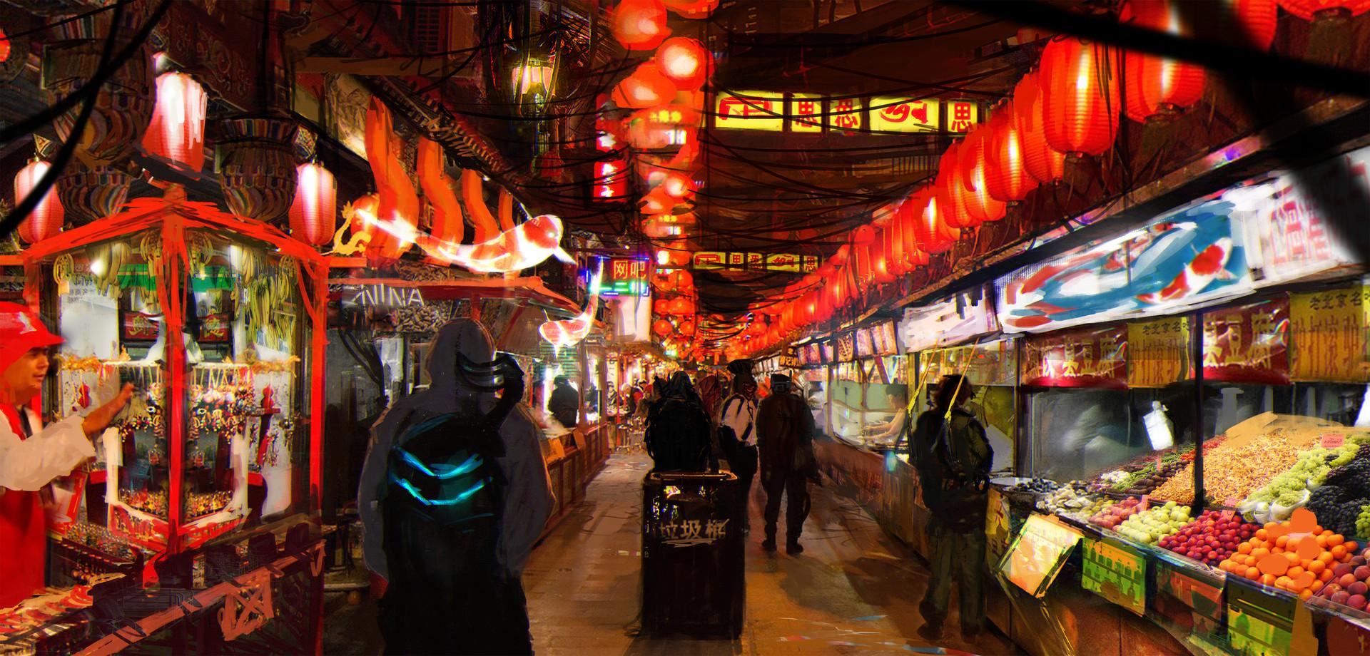 Rutger van de steeg cyberpunk market 10mb