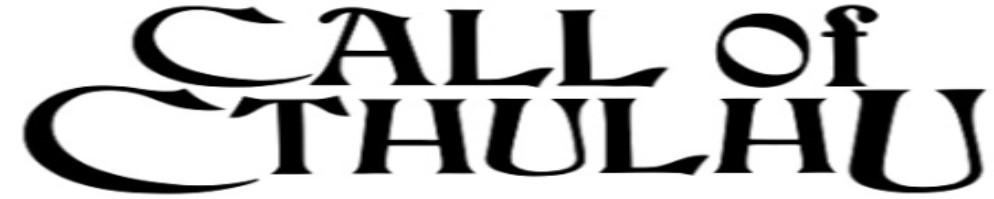 Call of cthulhu logo black