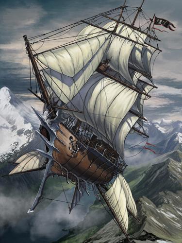 Skyship by benwootten