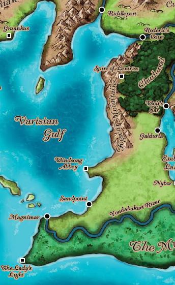 Lost Coast Of Varisia: Http://pathfinderwiki.com/wiki/Lost_Coast