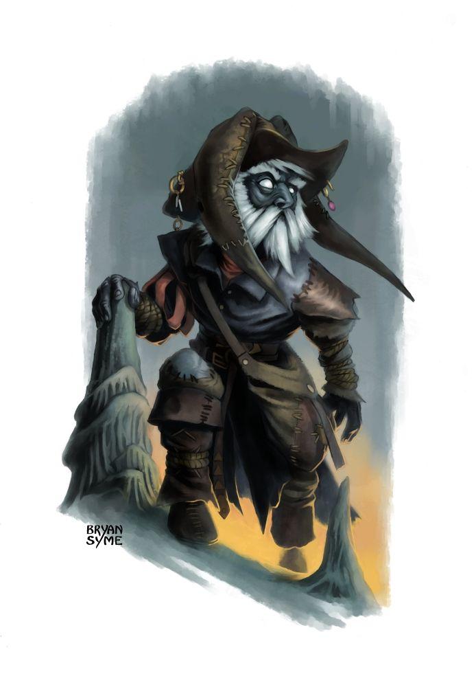 Svirfneblin (Deep Gnome) - Race | Syrik: 5e | Obsidian Portal